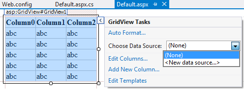 grid view templates in asp net - edit gridview control using sqldatasource and template