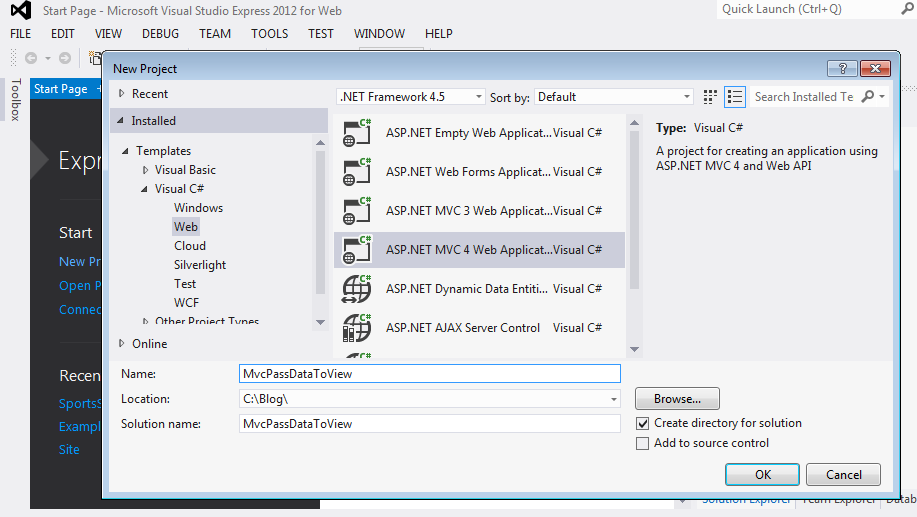 4 Basic ways to pass data from Controller to View in ASP.NET MVC ...