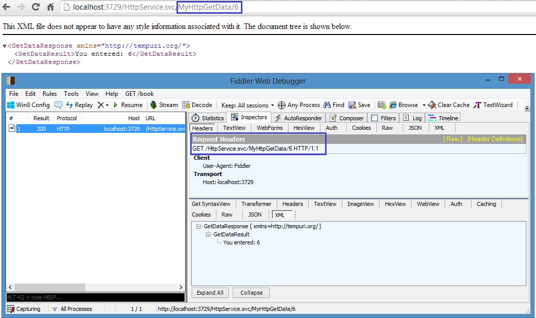 Create And Consume Wcf Restful Service Using An Httpclient Chsakell S Blog