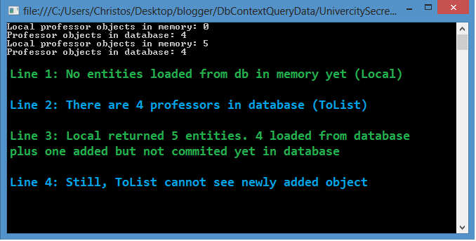 Retrieving data with DbContext | chsakell's Blog