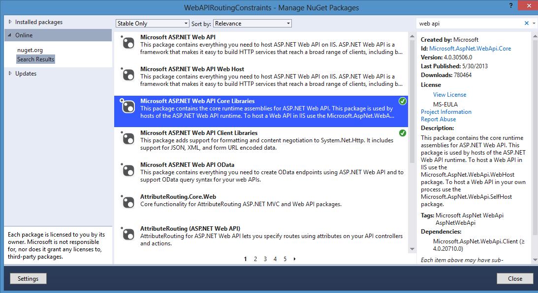 ASP.NET Core Web API Attributes | DotNetCurry