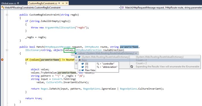 Web API Custom Routing Constraints | chsakell's Blog