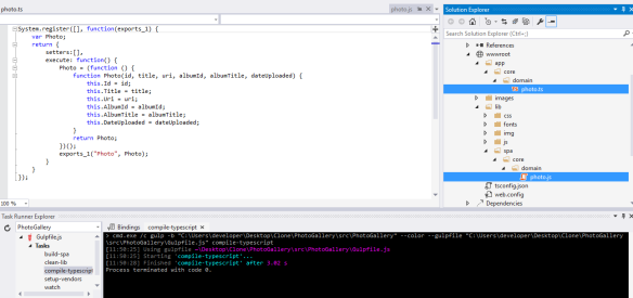 Cross-platform Single Page Applications with ASP NET Core