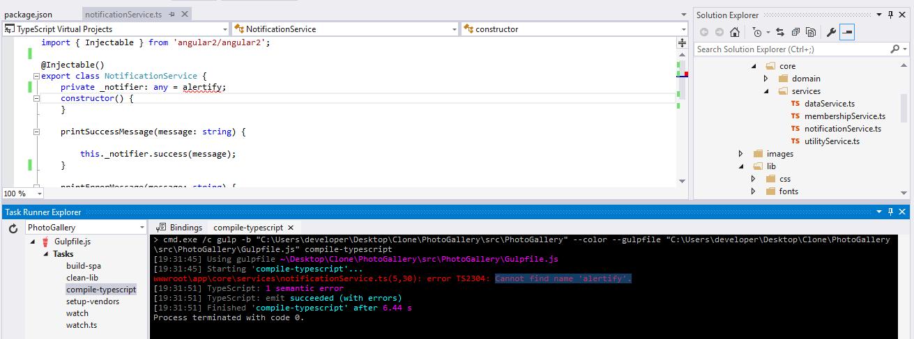 Cross-platform Single Page Applications with ASP NET Core 1 0