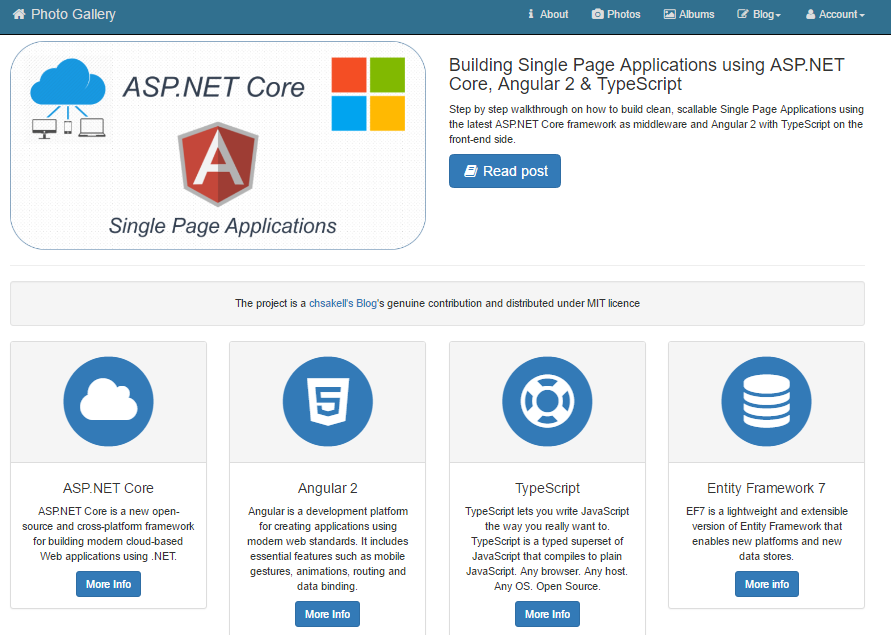 Single page application in asp net mvc 4