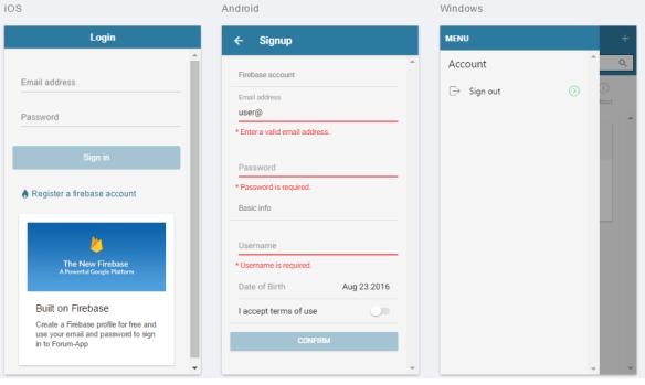 Building hybrid mobile apps using Ionic 2 and Firebase – chsakell's Blog