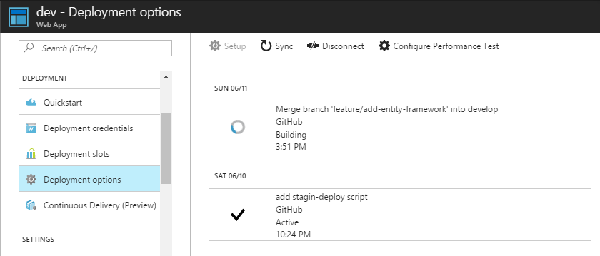Continuous Integration & Delivery with Microsoft Azure
